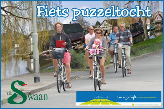 fietspuzzeltocht groepsuitje