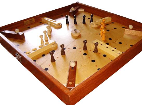 Kruisvuurspel Oudhollandse spelletjes