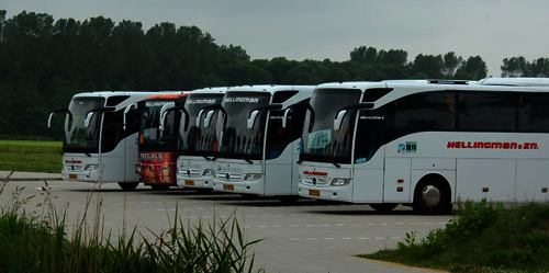 bus schoolreisje