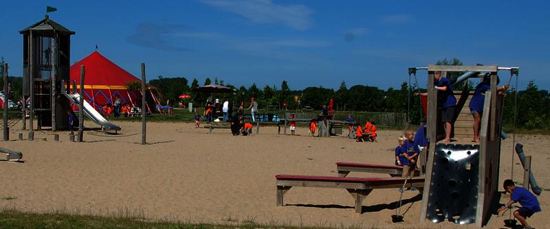 schoolreisje zand