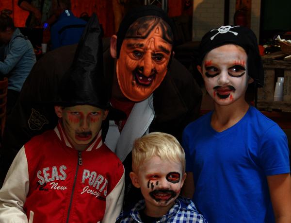 halloweenfeest gezin noord-holland
