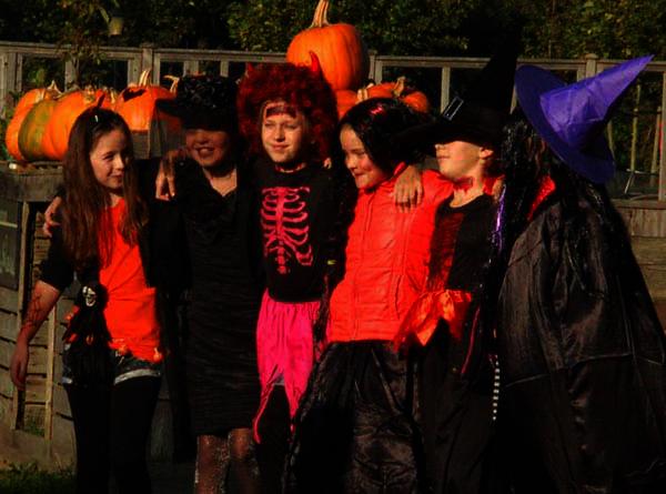 kinderfeestje halloween noord-holland