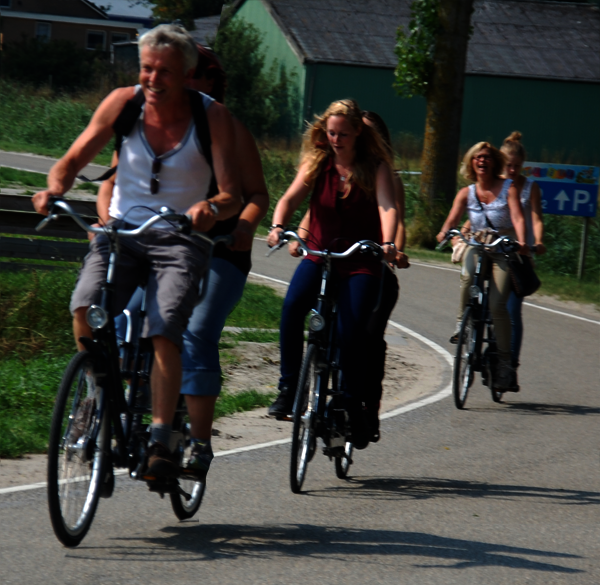 fietsspel Noord-Holland