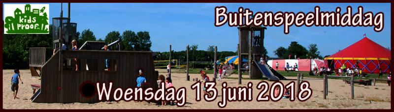 Buitenspeeldag Noord-Holland
