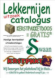 Kerstpakket uitzoekcatalogus